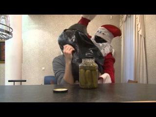 Осторожно! Дед Мороз похищает людей с похмельем!
