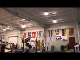 McKenzie Wofford - Uneven Bars - April National Team Camp