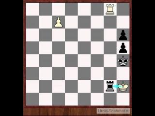 Уроки шахмат  - Шахматный этюд 1