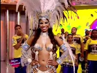 Caldeirão do Huck - Andreza Sobrinho, da Rosas de Ouro, vence o Musa do Carnaval Paulista.