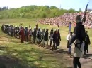 5 Czech Medieval battle marsch Libusin 2009