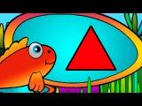 Развивающие Мультики - геометрические фигуры - Треугольник