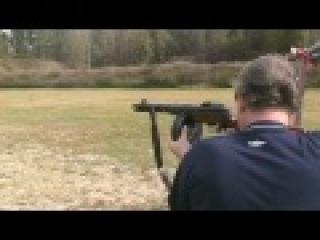 Стрельба из ППШ 41