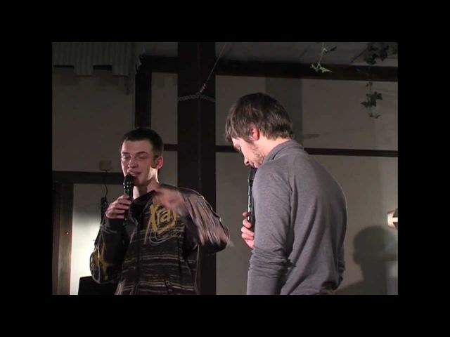 Импровизация Воробьев vs Шамутило