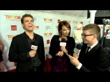Paul Wesley interview at Trevor Live 2012/12/2 - HD 720P