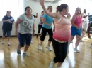 9 1/2 months pregnant Zumba Fitness instructor Pitbull Pause