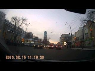 Метеорит над Уралом (вид из Екатеринбурга)