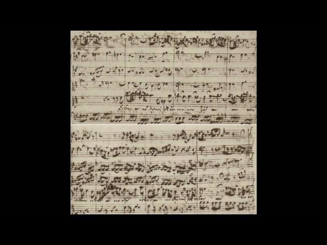 Bach Manuscript - Matthaeus Passion - 39