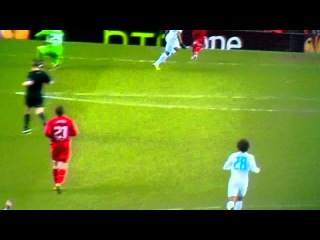 Hulk Goal Liverpool [0-1] Zenit Petersburg 21.02.2013