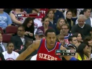 Philadelphia 76ers Vs New Jersey Nets Highlights