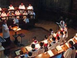 Westminster Cathedral Choir - Missa Brevis in D(Benjamin Britten).wmv
