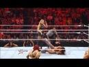 Nikki Bella vs Beth Phoenix Lumberjill Divas Championship Match WWE Raw 4/23/12