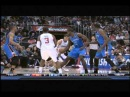 Blake Griffin over Kendrick Perkins (reverse angle): Oklahoma City Thunder at Los Angeles Clippers