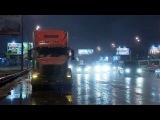 Тяжёлым грузовикам теперь запрещено с утра до вечера выезжать на МКАД без особого пропуска - Первый канал