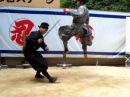 Ninja Demonstration in Iga Ueno, Japan