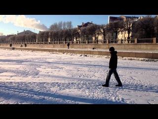 Ходьба по льду или тайна подводной лодки - ice-walk