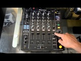 Pioneer DJM-850 4-Channel Traktor Scratch Certified Professional DJ Mixer Review Video