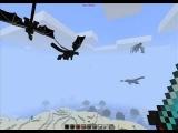 Minecraft 1.1 - Ender Dragon очень неожиданно? 0_о