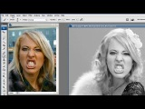 http://vk.com/youcancanon -Фотошоп урок -  Меняем лицо PlayBoy
