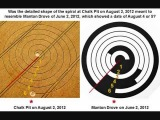 CROP CIRCLE ~ Chalk Pit, nr Wootton Rivers, Wiltshire ~ Reported August 2, 2012