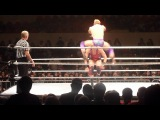 WWE RAW in Moscow - 11.04.2012 - Jack Swagger vs Zack Ryder (part 1)