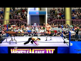 WWE'13 WM-Classic Jeff Hardy vs CM Punk TLC Match