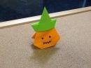 Daily Origami: 502 - Jack-O'-Lantern Goodie Bag