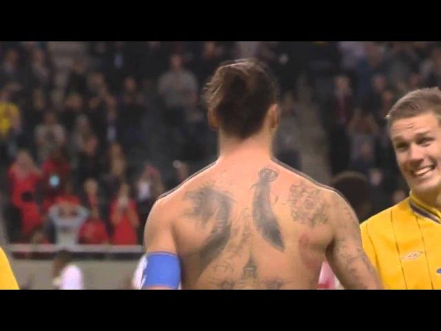 Zlatan Ibrahimovic - SWE-ENG - Bicycle DREAMGOAL