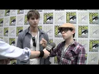 Tower Prep - Comic-Con 2010 Exclusive: Ryan Pinkston and Drew Van Acker