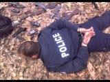Kosovo Albanian terrorist police (KPS) captured by Serbian forces Gendarmery - Merdare 31.3.2012