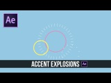 After Effects Tutorial: Accent Explosion 2D Motion Graphics