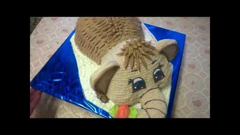 Торт мамонтёнок