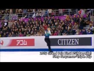 [Step Sequence] Yuzuru HANYU 2016 Grand Prix Final FS