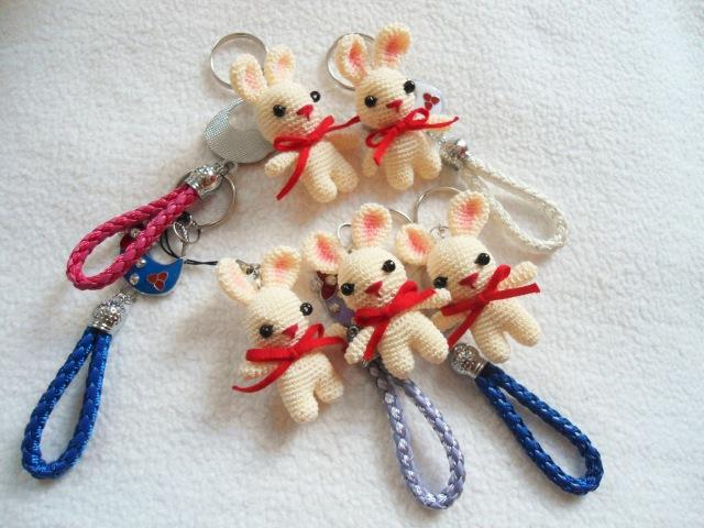 Mini bunny crochet