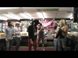 2) Bombs Away - Foxy Shazam plays live in St Louis, MO at Vintage Vinyl