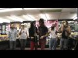 1) Intro plus Evil Thoughts - Foxy Shazam live in St Louis, MO at Vintage Vinyl