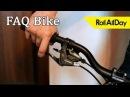 Как установить настроить и притереть дисковый механический тормоз Roll All Day FAQ Bike