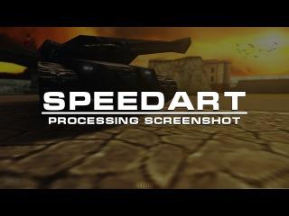 [#2] SpeedArt - Processing screenshot | Tanki Online | Обработка скриншота Танки Онлайн