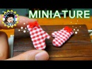 미니어쳐 주방장갑 만들기★ Miniature - Oven gloves / 미미네 미니어쳐