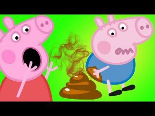 свинка пеппа на английском все серии подряд смотреть