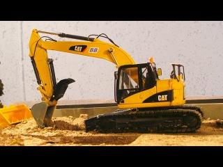 Diggers Cartoons - The Excavator - Construction Trucks Video for children - Kids Cartoons