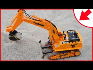 The Excavator with Construction Trucks and Diggers Cartoons for children | Videos for kids