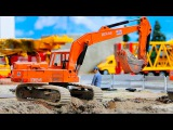 The Excavator - Construction Trucks Video for Kids - Diggers for children
