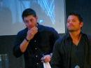 Jus In Bello 3 Supernatural Con in Rome - Jensen Saturday Panel - Misha crush the panel