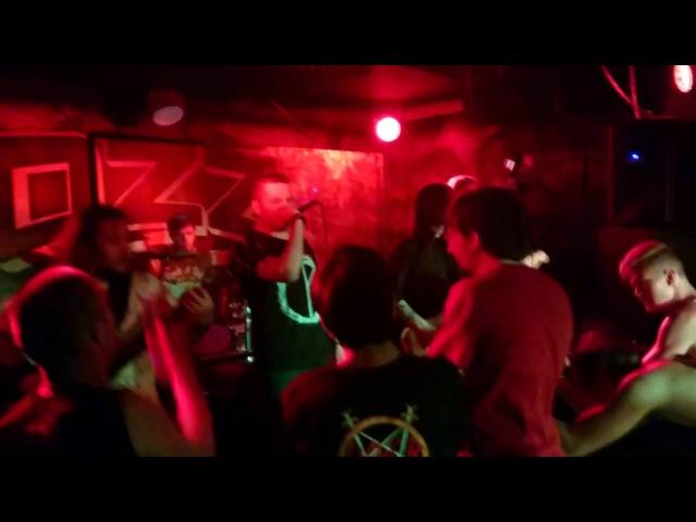 ATRAXY - Before I Forget (Slipknot cover) Live @ OZZ, Chelyabinsk, August