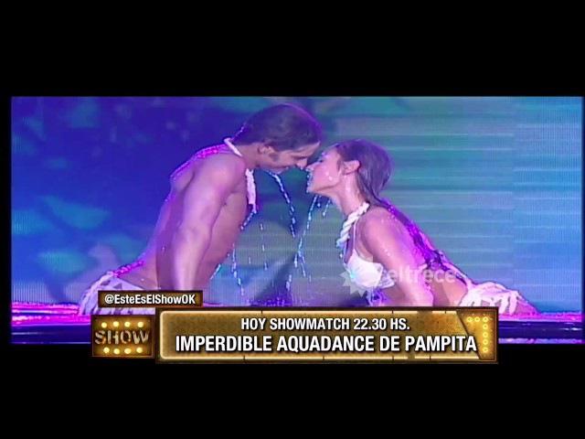Momento vintage: Pampita bailando Aquadance en el Bailando 2008