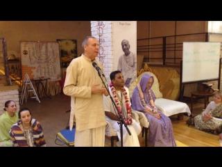 День рождения Тунга-видья-сакхи матаджи и Садху-прии прабху