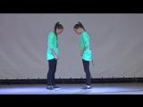 Хип-хоп танец.Хватит учить, давай танцевать.Соня и Ксюша Макиенко!