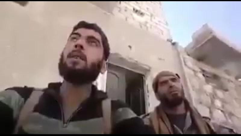 Послание бойцов ССА из Алеппо. Они проклинают уехавших воевать с ДААШ за $, бросив Алеппо в челюстях фашистского режима
