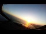 Вылет из аэропорта Пафос (Кипр) глазами пилота - Departure from Pafos (Cyprus) pilot view